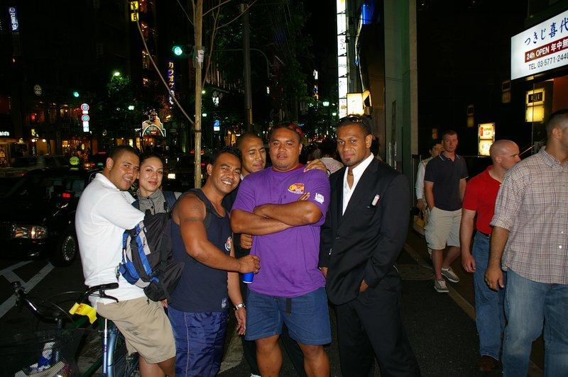 Tongans in Roppongi