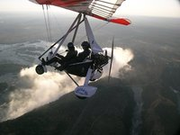 Ultra Light Flight over Victoria Falls