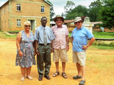 We meet Timothy, the minister of the church in Livingstonia, Malawi