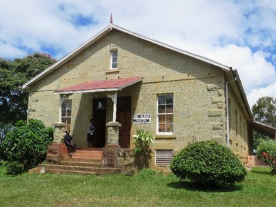 The stone house of Dr Robert Laws, now the museum, Livingstonia, Malawi