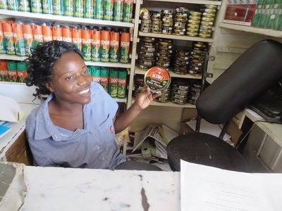 Kiwi shoe polish for sale in Malawi, made in South Africa, but originating in NZ