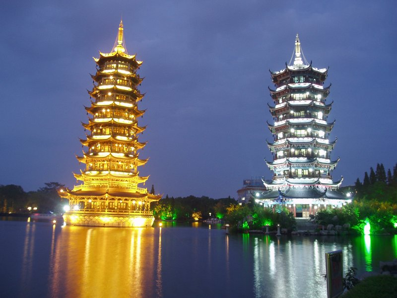 Pagodas in Guilin