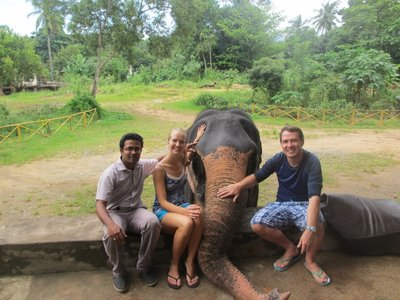 Elephant Village with our CS host Roshan