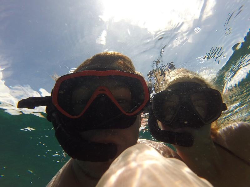 Snorkel-Selfie