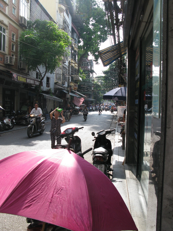 Day Begins on Hang Bac Street