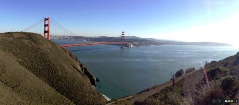 A Google photo. Once again, I must have decided this view was not worth the price of a photo!