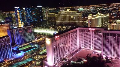 Vegas view from High Roller