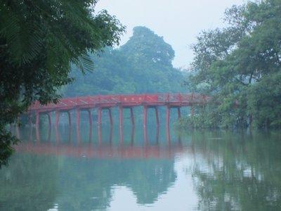 Lake in Hanoi