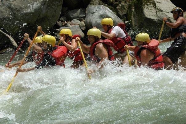 Rafting uten baat