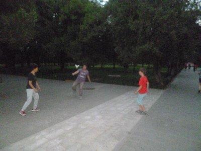 Foot Badminton