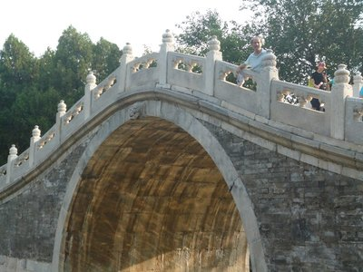 Hollow holey bridge
