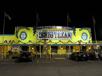 The Big Texan Steak house in Amarillo