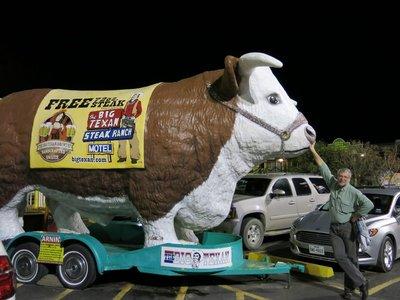 The Big Texan Steak house in Amarillo