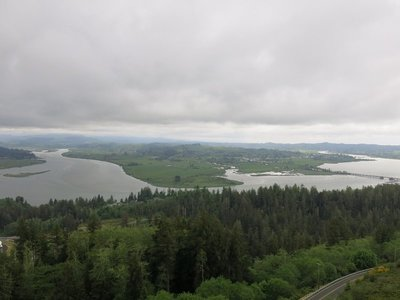 View from Astoria Column