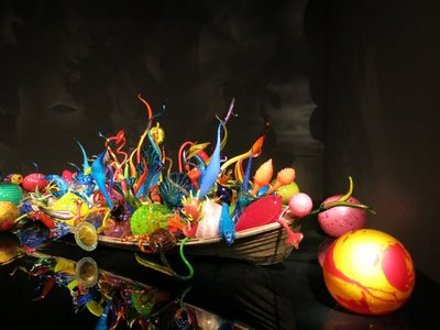 Chihuly garden and glass museum, Seattle