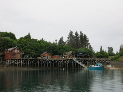 Saltry Restaurant in Halibut Cove