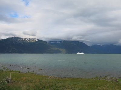 View from RV park in Haines