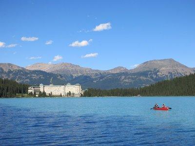 Lake Louise and Chateau Lake Louise