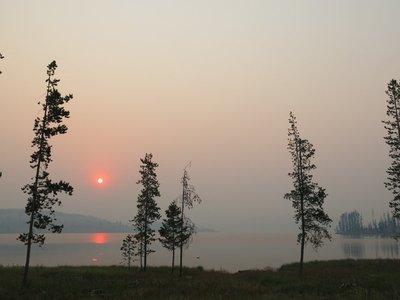 Sunrise at Piney Campground, Montana