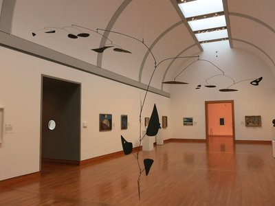 Alexander Calder mobile in the National Gallery of Canada