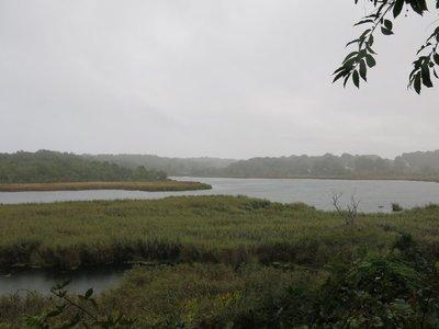 Eel river overlook