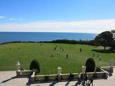 View from the back of the Breakers