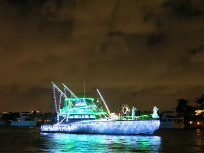 Ft. Lauderdale Holiday Boat Parade