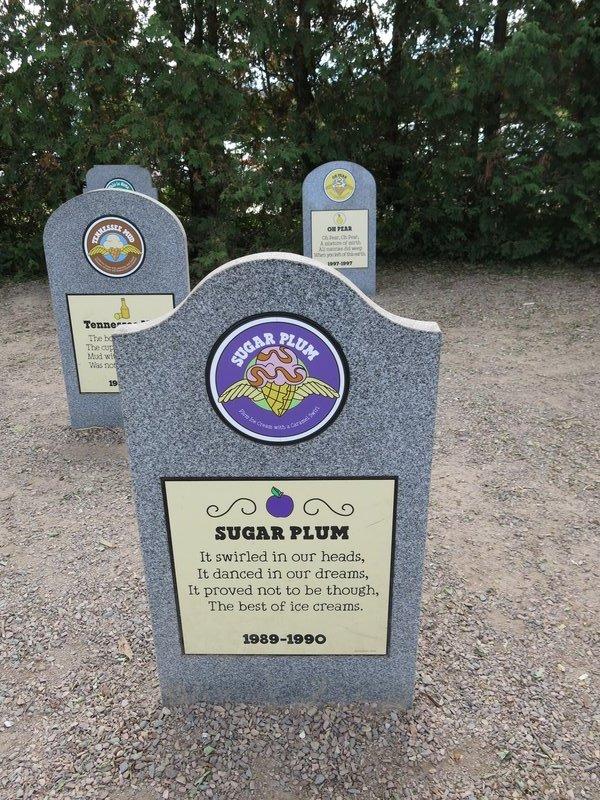 Ben & Jerry's Flavor Graveyard