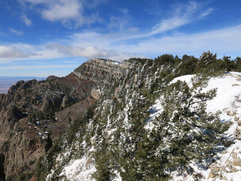 Sandia Peak in ABQ
