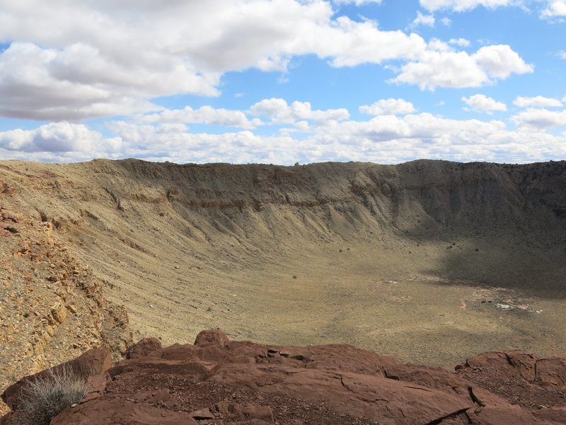 Meteor Crater near Winslow AZ