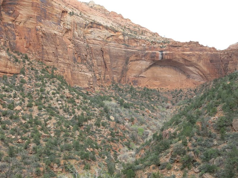 arch on the Zion-Mount Carmel Hwy