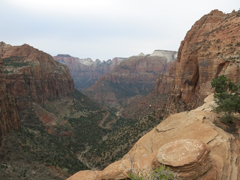 View from the Canyon Overlook trail