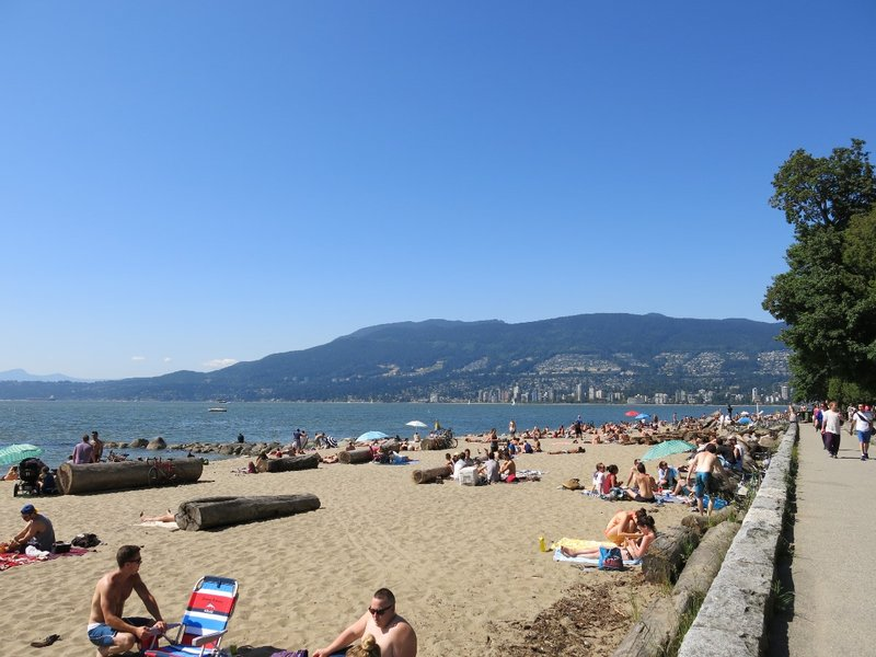 Beach at Stanley Park