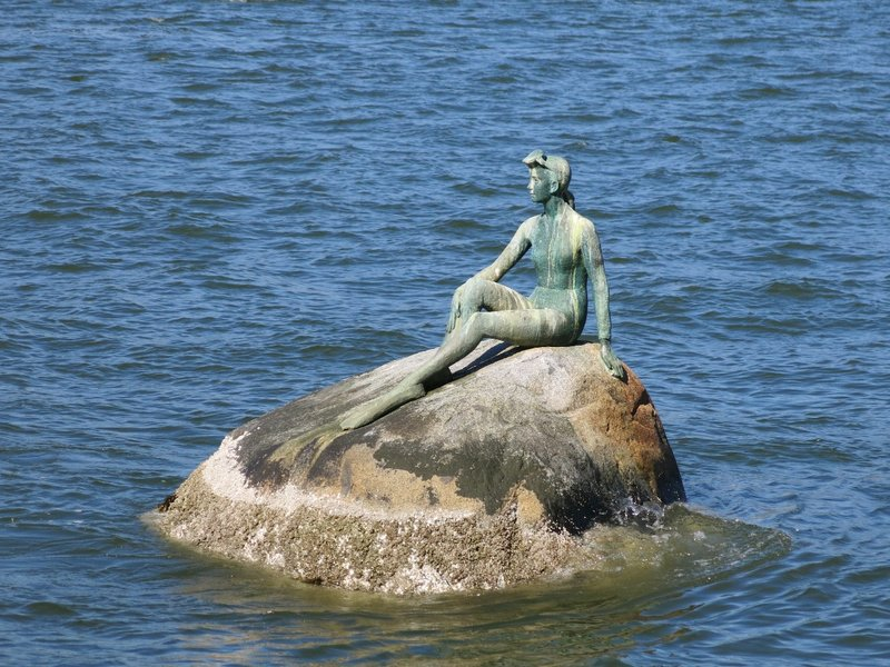 Girl in a Wetsuit - Stanley Park