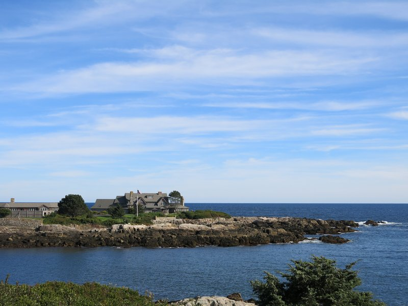 President Bush's house in Kennebunkport Maine