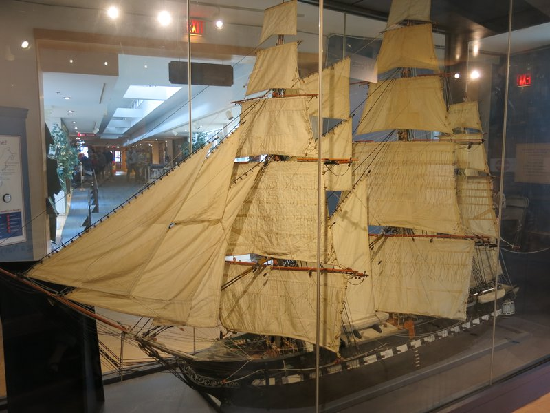 Model of the U.S.S. Constitution