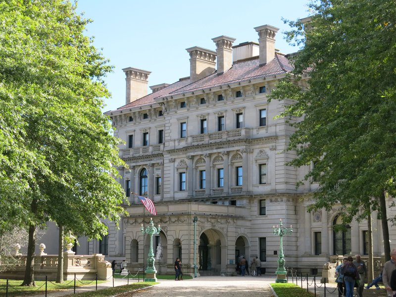 The Breakers, the Vanderbilt summer cottage