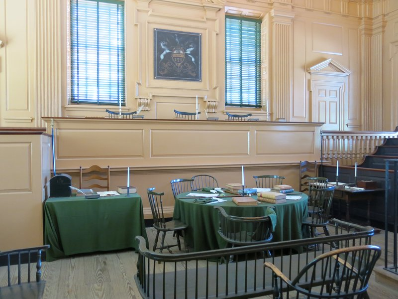 1770s Courtroom