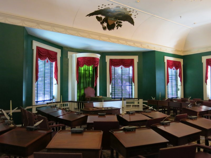 Senate Room at Congress Hall
