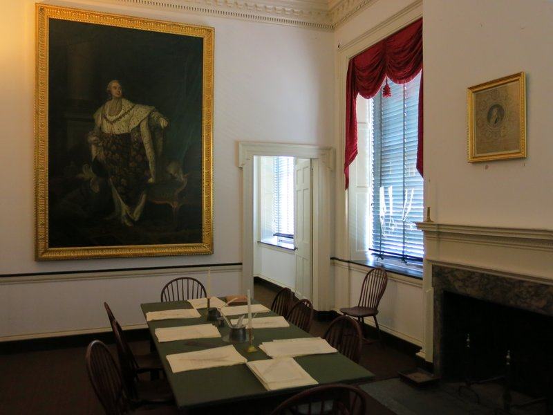 Writing room at Congress Hall