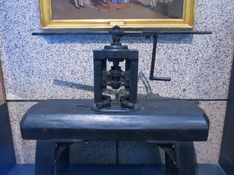 US Mint, original screw press
