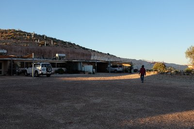 Fabulous underground B&B, Coober Pedy - from outside