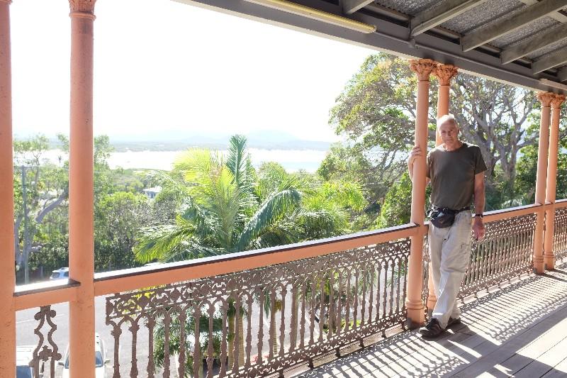 John at Cooktown Museum