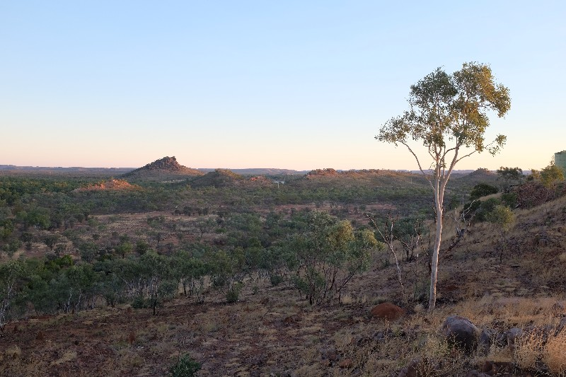 View from Lookout near Chinaman Creek Dam, Cloncurry