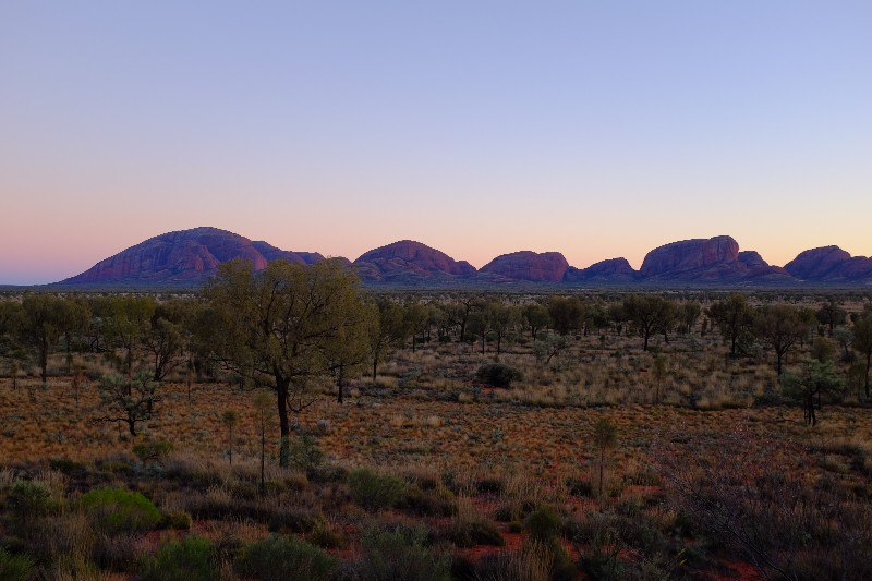 Kata Tjuta (The Olgas) at dawn