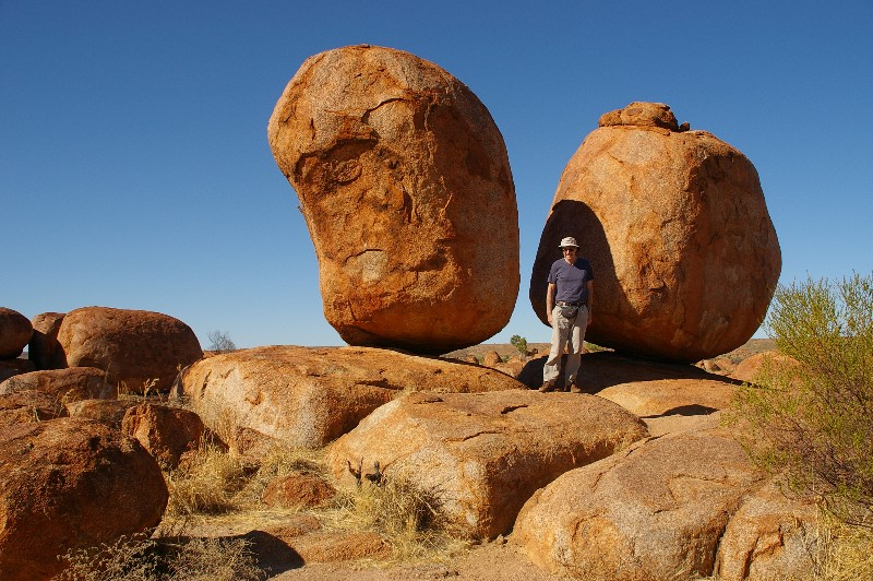 A couple of Devil's Marbles