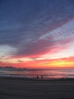 Copacabana sunset