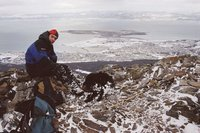 HIking at Ushuaia, the end of the world!