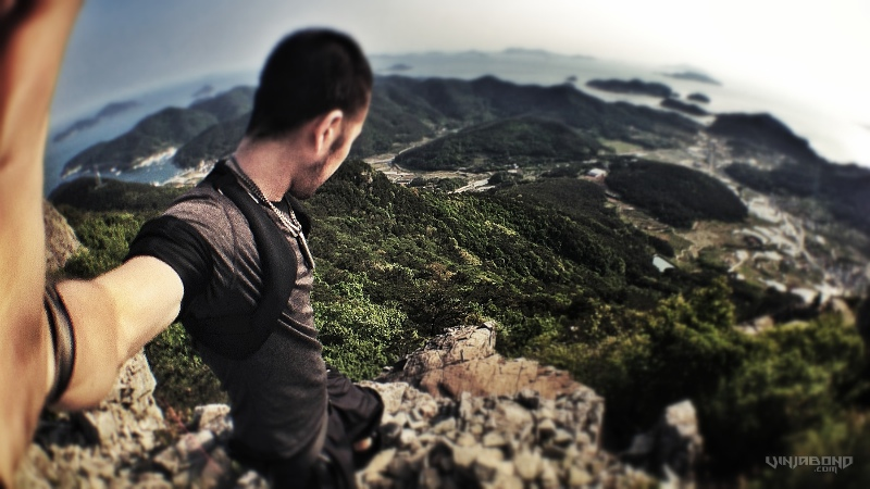 Backpacking Tongyeong Mountain
