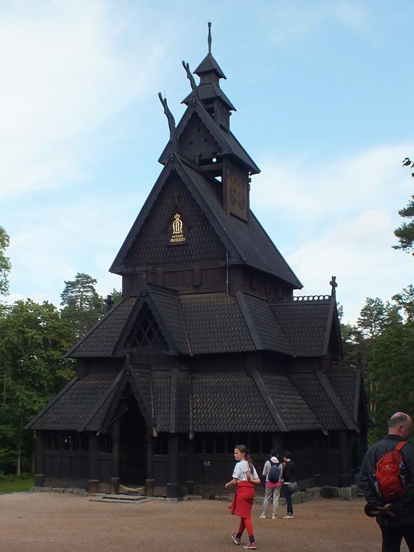 Stabkirche aus Gol
